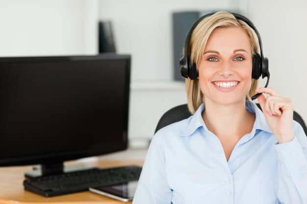recepcionista hospitalar telefone